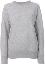 Laneus ruffled back jumper - women - Wool - 40