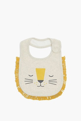 Country Road Organically Grown Cotton Unisex Lion Face Bib