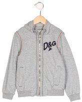 Dolce & Gabbana Boys' Logo Hooded Sweatshirt