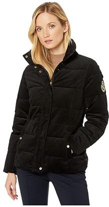 Lauren Ralph Lauren Corduroy Jacket (Black) Women's Clothing