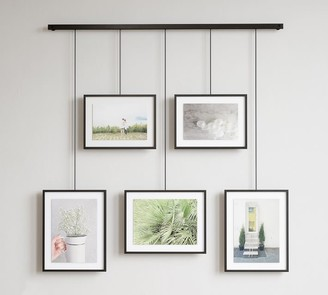Pottery Barn Hanging Black Gallery Frames, Set of 5