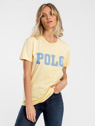 Polo Ralph Lauren Big Polo Short Sleeve T-Shirt in Banana Peel