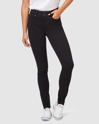 Jeanswest Tummy Trimmer Skinny Jeans Black Night