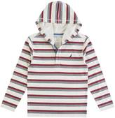 Nautica Little Boys' Hooded Striped Henley (2T-7)