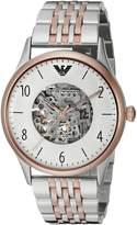 Emporio Armani Men's AR1921 Dress Analog Display Analog Quartz Two Tone Watch
