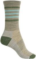 Smartwool Hike Light Stripe Socks - Merino Wool, Crew (For Women)