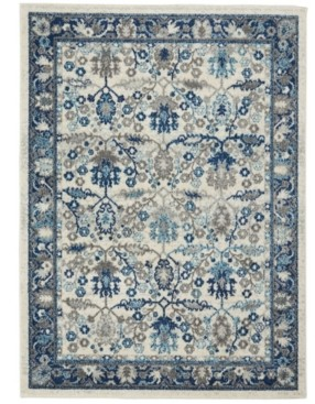 "Long Street Looms Antique ANT05 Ivory 5'3"" x 7'3"" Area Rug"