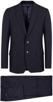 Paul Smith Mayfair Navy Wool Travel Suit