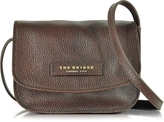 The Bridge Plume Soft Donna Dark Brown Leather Crossbody Bag