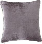 """Michael Aram Beaded-Edge Velvet Pillow in Gray, 18"""" Square"""