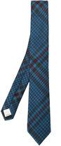 Valentino classic plaid tie