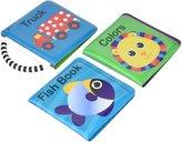 Sassy 3 Pack Newborn Developmental Book set