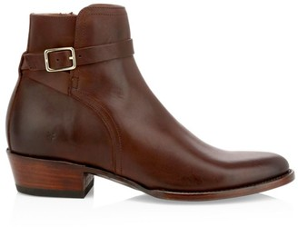 Frye Grady Leather Ankle Boots