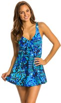 Penbrooke Caribbean Play Bow Front Swimdress 8136142
