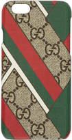 Gucci Multicolor GG Supreme Chevron iPhone 6 Case