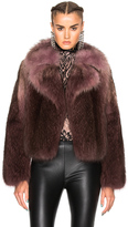Lanvin Racoon Fur Jacket