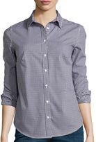 ST. JOHN'S BAY St. John's Bay Long-Sleeve Wrinkle-Free Shirt