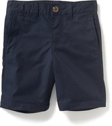 Old Navy Uniform Flat-Front Twill Shorts for Toddler Boys