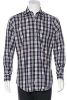 Peter Millar Plaid Woven Shirt w/ Tags