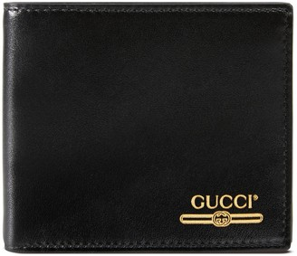 Gucci Leather wallet with logo