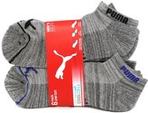 Puma Men's COOL CELL Low Cut Socks - 6 Pairs