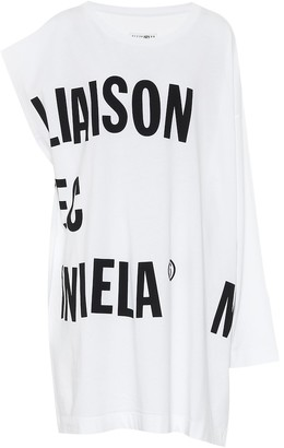 MM6 MAISON MARGIELA Logo cotton-jersey dress