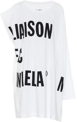 MM6 MAISON MARGIELA Logo cotton-jersey dress