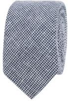 Ben Sherman Puppytooth Mixed Yarn Tie