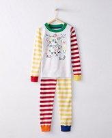 Dr. Seuss Kids Long John Pajamas In Organic Cotton