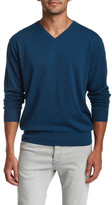 Peter Millar Tipped V-Neck Sweater