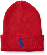 Ralph Lauren Big Pony Ribbed Cotton Hat