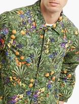 White Mountaineering Floral Lightweight Coach Jacket