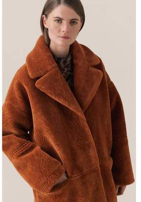 Second Female - Faux Fur Myra Winter Coat - XS