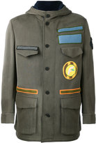 Fendi - military jacket - men - Cotton/Nylon/Polyamide/Wool - 48