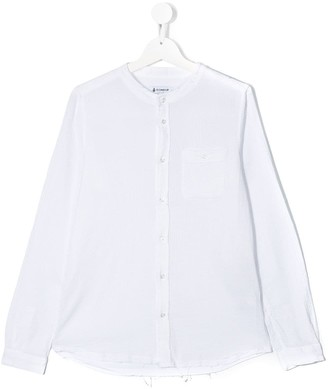 Dondup Kids TEEN distressed relaxed-fit shirt