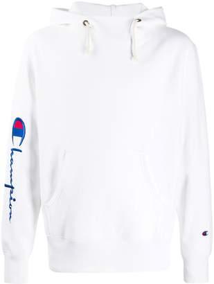 Champion script logo reverse weave hoodie
