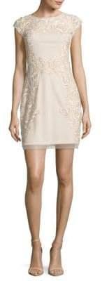 Aidan Mattox V-Back Dress