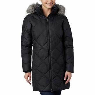 Columbia Women's Icy Heights II Hooded Mid-Length Down Jacket