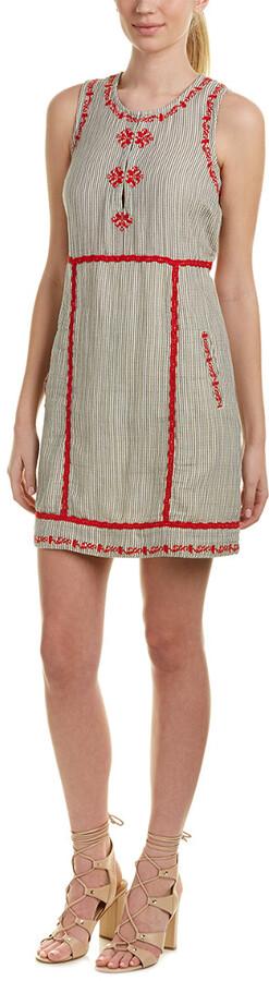 Ella Moss Embroidered Shift Dress