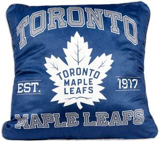 Nhl NHL Toronto Maple Leaf's Team Faux Shearling-Back Pillow