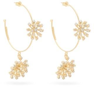 Rosantica Arcadia Starburst Crystal-embellished Earrings - Crystal