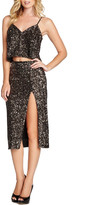 Dress the Population Alessandra Sequin Midi Skirt