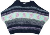 Splendid Girl Mixed Yarn Sweater