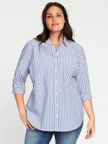 Old Navy Classic Plus-Size Striped Tunic