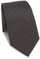 Armani Collezioni Micro-Patterned Silk Tie