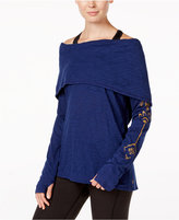 Gaiam Emergy Cowl-Neck Top