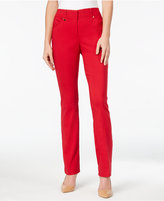 JM Collection Curvy-Fit Slim-Leg Pants, Only at Macy's