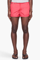 Marc by Marc Jacobs Red Robin Nylon Swim Shorts