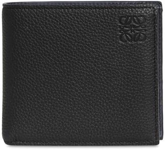 Loewe Logo Leather Billfold Coin Wallet