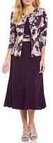 Jessica Howard Floral Print 2-Piece Jacket Dress